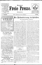 Neue Freie Presse 19261130 Seite: 1