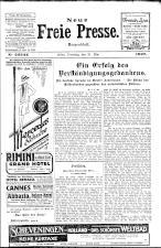 Neue Freie Presse 19270531 Seite: 1
