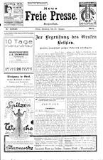 Neue Freie Presse 19310125 Seite: 1