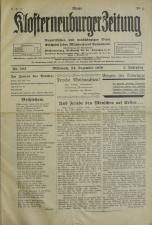 Neue Klosterneuburger Zeitung