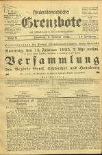 Niederösterreichischer Grenzbote