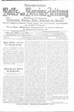 Niederösterreichische Volks- und Vereinszeitung