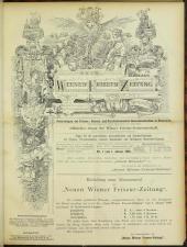 Neue Wiener Friseur-Zeitung 18930101 Seite: 1