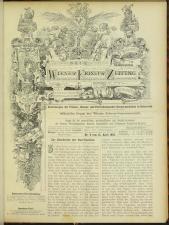 Neue Wiener Friseur-Zeitung 18930415 Seite: 1