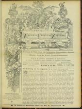 Neue Wiener Friseur-Zeitung 18930715 Seite: 1
