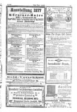 Neues Wiener Tagblatt (Tages-Ausgabe) 18771113 Seite: 11