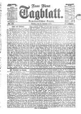 Neues Wiener Tagblatt (Tages-Ausgabe) 18771113 Seite: 1