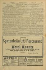 Neues Wiener Tagblatt (Tages-Ausgabe) 18980214 Seite: 8