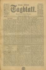 Neues Wiener Tagblatt (Tages-Ausgabe) 18980215 Seite: 1