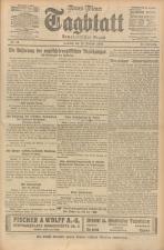 Neues Wiener Tagblatt (Tages-Ausgabe) 19240210 Seite: 1