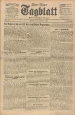 Neues Wiener Tagblatt (Tages-Ausgabe) 19240211 Seite: 1
