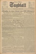 Neues Wiener Tagblatt (Tages-Ausgabe) 19411013 Seite: 1