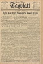 Neues Wiener Tagblatt (Tages-Ausgabe) 19411014 Seite: 1