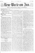 Neue Warte am Inn 18901018 Seite: 1