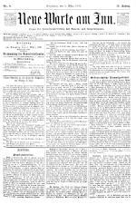 Neue Warte am Inn 18930304 Seite: 1