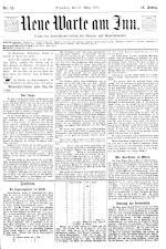 Neue Warte am Inn 18930325 Seite: 1