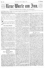 Neue Warte am Inn 18930422 Seite: 1