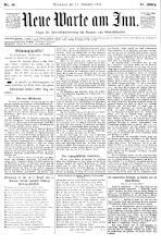 Neue Warte am Inn 18931118 Seite: 1
