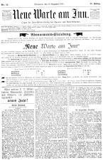Neue Warte am Inn 18931230 Seite: 1