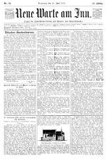 Neue Warte am Inn 18950622 Seite: 1