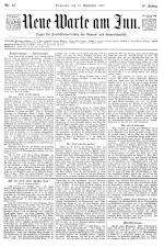 Neue Warte am Inn 18980910 Seite: 1