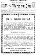 Neue Warte am Inn 18980917 Seite: 1