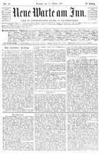 Neue Warte am Inn 19091015 Seite: 1