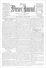 Neues Wiener Journal 19091107 Seite: 1