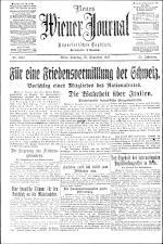 Neues Wiener Journal 19171125 Seite: 1