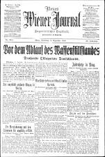 Neues Wiener Journal 19181203 Seite: 1