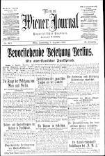 Neues Wiener Journal 19181205 Seite: 1