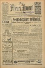 Neues Wiener Journal 19270708 Seite: 1