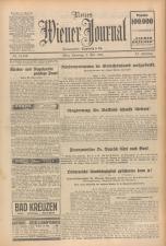 Neues Wiener Journal 19340505 Seite: 1
