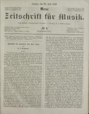 Neue Zeitschrift für Musik 18590722 Seite: 1