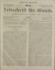 Neue Zeitschrift für Musik 18590805 Seite: 1