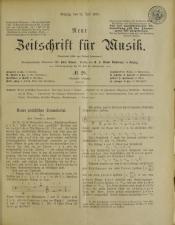 Neue Zeitschrift für Musik 18930719 Seite: 1