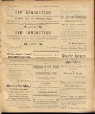 Oesterreichische Buchhändler-Correspondenz 18930729 Seite: 11