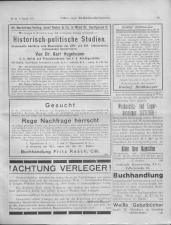 Oesterreichische Buchhändler-Correspondenz 19170808 Seite: 11