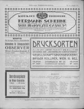 Oesterreichische Buchhändler-Correspondenz 19170808 Seite: 14