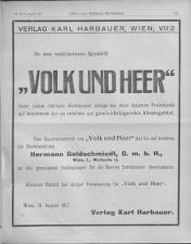Oesterreichische Buchhändler-Correspondenz 19170815 Seite: 11