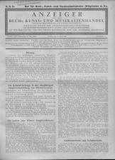 Oesterreichische Buchhändler-Correspondenz