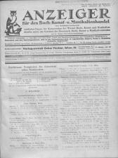 Oesterreichische Buchhändler-Correspondenz 19301114 Seite: 1