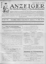 Oesterreichische Buchhändler-Correspondenz 19320430 Seite: 1