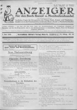 Oesterreichische Buchhändler-Correspondenz 19320507 Seite: 1