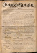 Ostdeutsche Rundschau 18930101 Seite: 1