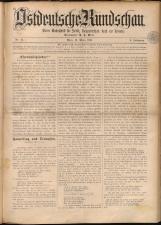 Ostdeutsche Rundschau 18930319 Seite: 1
