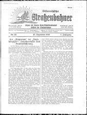 Österreichischer Straßenbahner