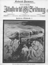 Österreichische Illustrierte Zeitung 18980918 Seite: 1