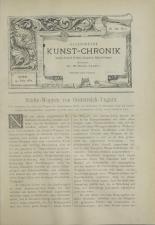 Österreichische Kunst-Chronik