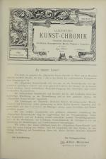 Österreichische Kunst-Chronik 18930701 Seite: 1